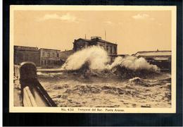 CHILE Punta Arenas Temporal Del Sur Ca 1920 OLD POSTCARD 2 Scans - Cile