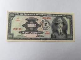 BRASILE 10000 CRUZEIROS 1966 - Brésil