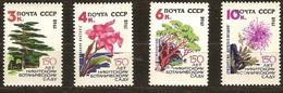 Russie Rusland Russia 1962 Yvertn° 2566-2569 *** MNH Cote 3,50 Euro Flore Arbres - 1923-1991 URSS