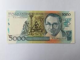 BRASILE 5000 CRUZADOS 1986 - Brésil