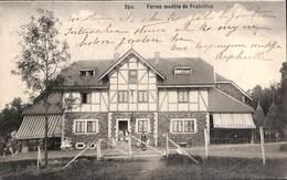 Spa - Ferme Modèle De Frahinfaz (animée, Attelage, Edtion Debrus 1910) - Spa