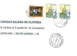 LSJP BRAZIL COVER SEAL D. PEDRO II 2007 - Brazil