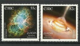 IRELAND 2009 EUROPA ASTRONOMY SET MNH - Unused Stamps