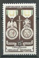 France YT N°927 Médaille Militaire Neuf ** - France