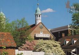 Postcard Old Salem Home Moravian Church North Carolina My Ref  B23244 - Winston Salem