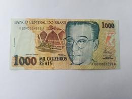 BRASILE 1000 CRUZEIROS 1993 - Brasile