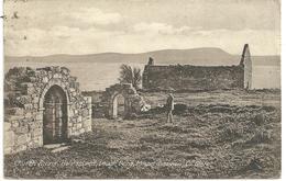 CHURCH RUINS - HOLY ISLAND - LOUGH DERG - MOUNT SHANNON - CO. CLARE - Clare