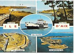 CPA-1970-17-ILE D AIX-MULTIVUES-TBE - Autres Communes