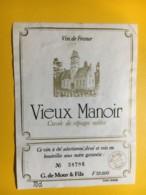 9106 - Vieux Manoir Vin De France Cuvée De Càpages Nobles - Etiketten