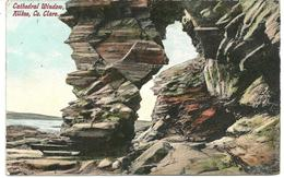 CATHEDRAL WINDOW KILKEE - COUNTY CLARE WITH GOOD KILKEE S.O. POSTMARK 1908 - Clare