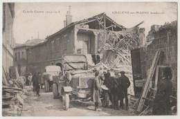 CPA 51 Grande Guerre 1914-1918 CHALONS SUR MARNE Bombardé - Châtillon-sur-Marne