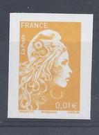 MARIANNE L'ENGAGEE - TIMBRE 0,01€ - NON DENTELE - SALON AUTOMNE 2018 - 2018-... Marianne L'Engagée