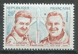 France YT N°1213 Pilotes D'assai Neuf ** - Neufs