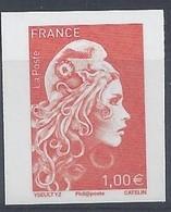 MARIANNE L'ENGAGEE - TIMBRE 1,00€ - NON DENTELE - SALON AUTOMNE 2018 - 2018-... Marianne L'Engagée