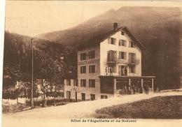 HÔTEL DE L'AIGUILLETTE ET BREVENT  Carte Pub Du Proprietaire A BOCHATAY   29 - Les Houches