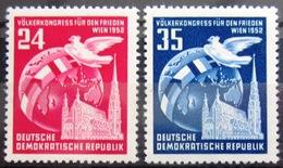 ALLEMAGNE Rép.démocratique               N° 76/77                    NEUF** - [6] République Démocratique