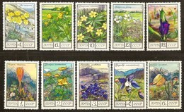 Russia Rusland Russie 1975 1976 Yvertnr 4210-14 Et 4313-16 *** MNH Cote 3,80 Euro Flore Fleurs Bloemen - 1923-1991 URSS