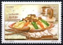 ALGERIE ALGERIA 2018 - 1v - MNH** Couscous Alimentation Gastronomie Gastronomy Food Versorgung Gastronomía - Alimentation