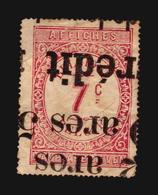 AFFICHES REVENUE BELGIE BELGIQUE SON CANCEL INTERESTING USED STAMP (A_4266) - Revenue Stamps