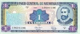 Nicaragua 1 Cordoba 1995 P-179 UNC - Nicaragua