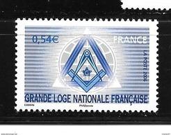 France:( Sous Faciale ) Le N°3993** Grande Loge Nationale Française - France
