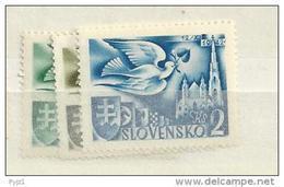 1942 MNH Slowakei, Slovensko, Postfris** - Slovakia