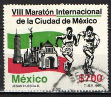 MESSICO - 1990 - MARATONA INTERNAZIONALE DI CITTA' DEL MESSICO - USATO - Messico