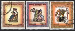 MESSICO - 1980 - ARTE PRE-COLOMBIANA - USATI - Messico