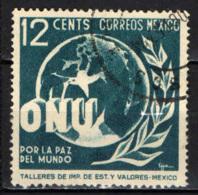 MESSICO - 1946 - ONU - ALLEGORIA DELLA PACE MONDIALE - USATO - Messico