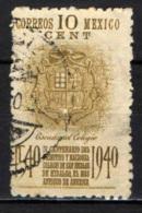 MESSICO - 1940 - COLLEGIO DI SAN NICOLA DE HIDALGO - USATO - Messico