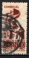 MESSICO - 1939 - MANO CHE SEMINA - ALLEGORIA DELL'AGRICOLTURA - USATO - Messico