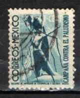 MESSICO - 1939 - LOTTA AL PALUDISMO - USATO - Messico