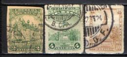 MESSICO - 1934 - FONTANA PUBBLICA E MONUMENTO A CUAUHTEMOC - USATI - Messico