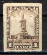 MESSICO - 1925 - MONUMENTO A MORELOS - USATO - Messico