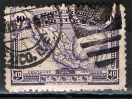 MESSICO - 1923 - MAPPA DEL MESSICO - USATO - Messico
