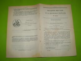 Douanes Diego Suarez.Justice Au Tonkin.Taxe Martinique.Circulation & Vente D'or En Guyane.Leg Baronne De Rothschild - Décrets & Lois