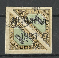 Estonia Estland 1923 Michel 43 B Alter Fälschung Old Forgery Fake Faux O - Estonie