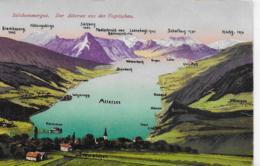 AK 0095  Der Attersee Aus Der Vogelschau - Verlag Brandt Um 1907 - Attersee-Orte