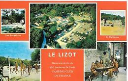2-CPA-1960-17-AULNAY-St Mandé Sur Brédoire-LIZOT-Centre Naturiste Camping- Fermé 2014-TBE - Aulnay