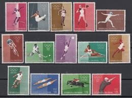 San Marino 1960 Blf. 528 Olimpiadi Roma Olympic Games Full Set MNH - Estate 1960: Roma