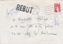 LSC 1981 - Griffe REBUT - Marcofilia (sobres)