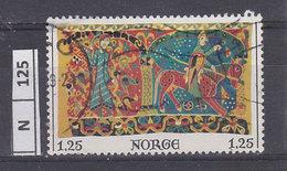 NORVEGIA   1976Natale, 1,25 Usato - Norvegia
