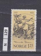 NORVEGIA   1978H. Ibsen 1,25 Usato - Norvegia