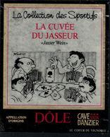 Rare // Etiquette De Vin // Jass // Dôle, La Cuvée Du Jasseur - Etiquettes
