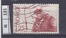 NORVEGIA   1978Re Olav 25 Usato - Norvegia