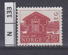 NORVEGIA   1983Costruzioni 2,50 Usato - Norvegia