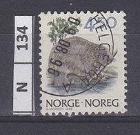 NORVEGIA   1990Animali 4,50 Usato - Norvegia