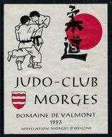 Rare // Etiquette De Vin // Judo // Morges, Judo-Club Morges - Etiquettes