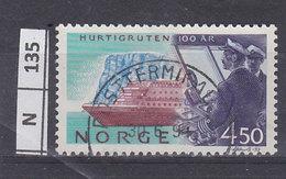 NORVEGIA   1993Trasporto Marittimo 4,50 Usato - Usati