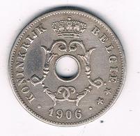10 CENTIMES 1906 VL  BELGIE /8342/ - 1865-1909: Leopold II
